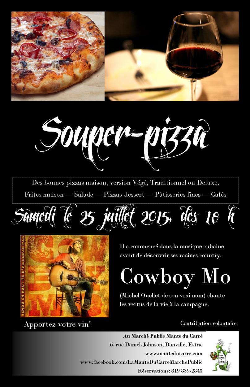 Cowboy Mo et Souper pizza Tabloid