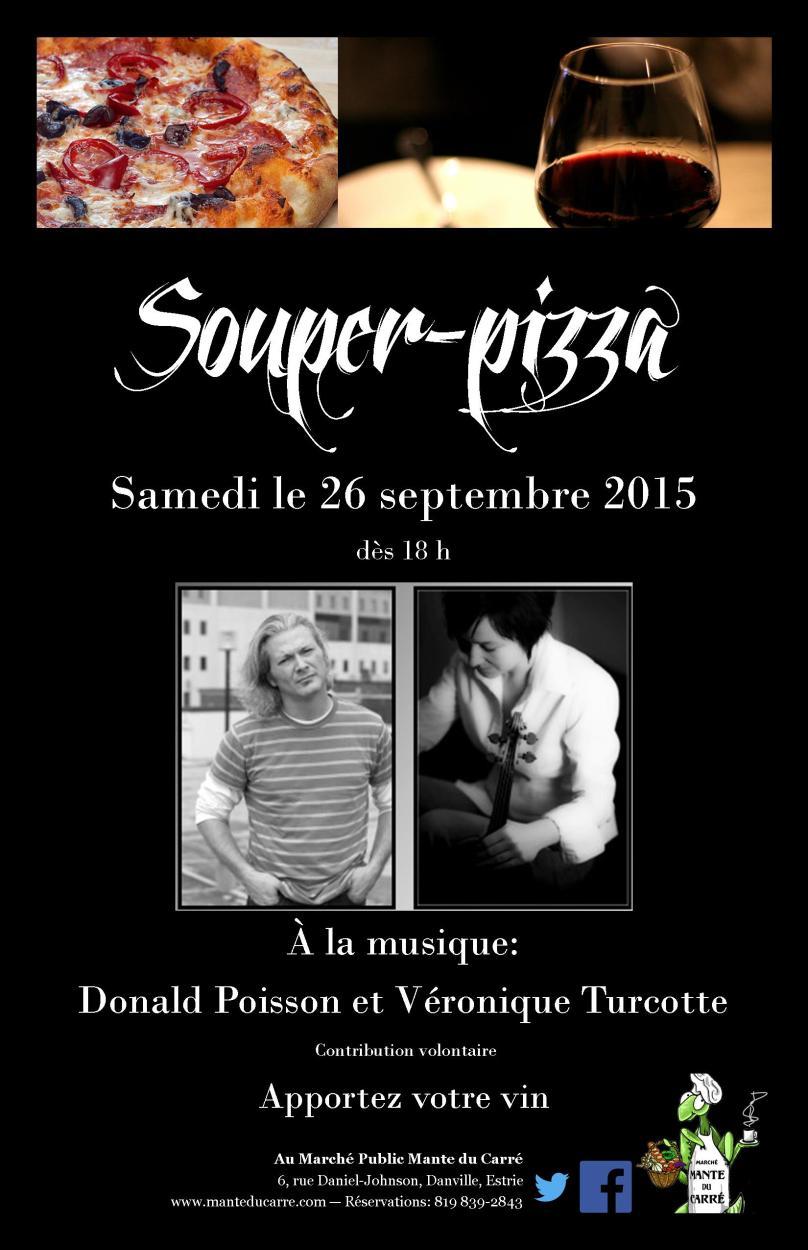 SouperPizza2015-09 Donald Poisson et Véronique Turcotte