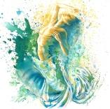 """""""La déferlante"""" Anouk Lacasse, artiste peintre et illustratrice www.anouklacasse.ca"""