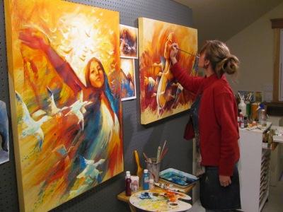 Anouk Lacasse, artiste peintre et illustratrice www.anouklacasse.ca